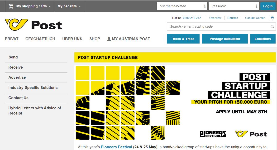 post start-up challenge